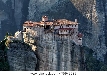The Holy Monastery Of Rousanou/st. Barbara, In Greece, Was Founded In The Middle Of 16Th Century And