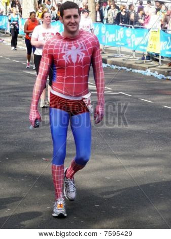 Fun Runners At London Marathon 25Th April 2010