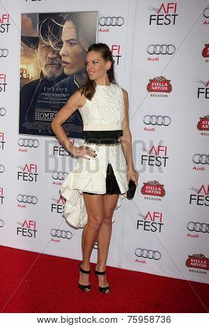 LOS ANGELES - NOV 11:  Hilary Swank at the
