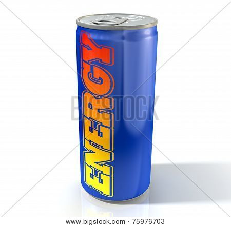 Energy Drink Can