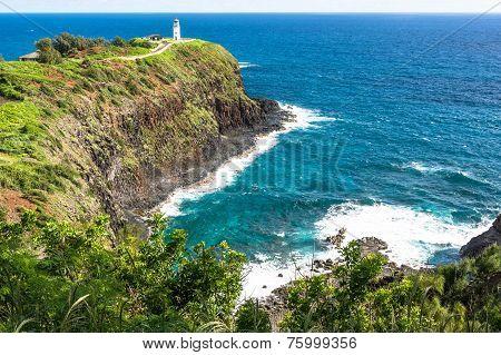The Kilauea Point and the lighthouse, Kauai