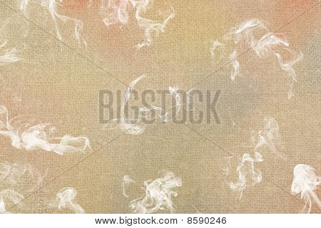 Abstract Painting With Smoke