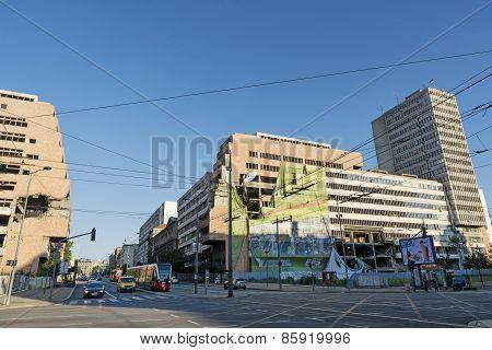 Yugoslav Ministry of Defence, Belgrade, Serbia