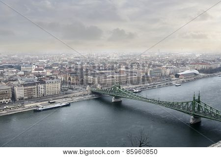 A view of Budapest