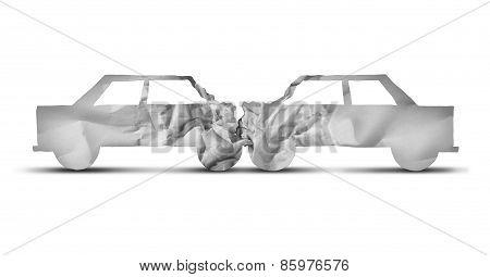 Auto Accident Concept