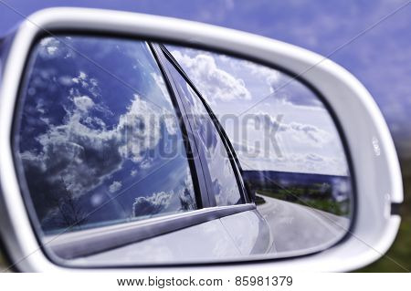 Clouds in the rearview mirror