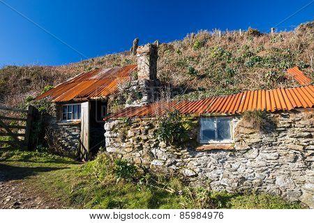 Prussia Cove Cornwall England