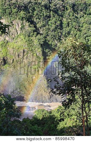 Barron Gorge With Rainbow
