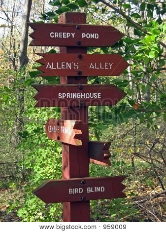 Campground Guidepost