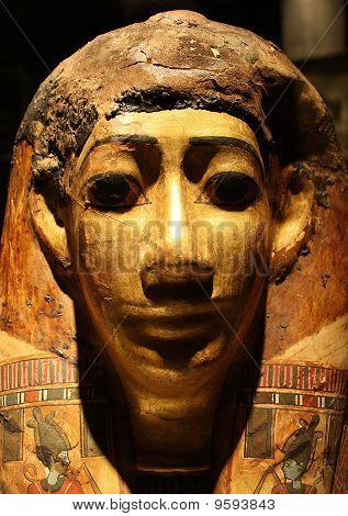 Golden Mummy Mask