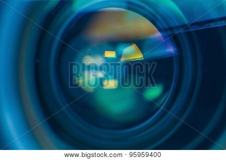 Chromatic Aberration In The Lens