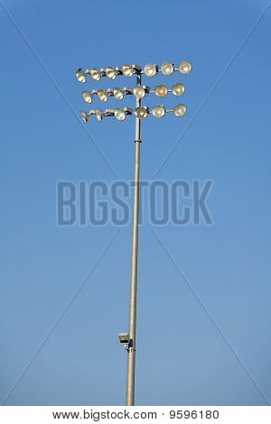 Stadium Lights Isolated