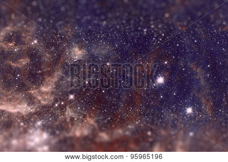 The region 30 Doradus lies in the Large Magellanic Cloud galaxy. poster