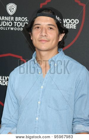 LOS ANGELES - JUL 14:  Jon Foo at the Warner Bros. Studio Tour Hollywood Expansion Official Unveiling, Stage 48: Script To Screen at the Warner Brothers Studio on July 14, 2015 in Burbank, CA