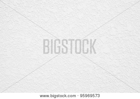 White wall or white mortar wall texture.