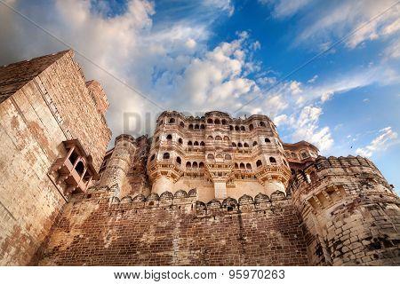 Mehrangarh Fort In India