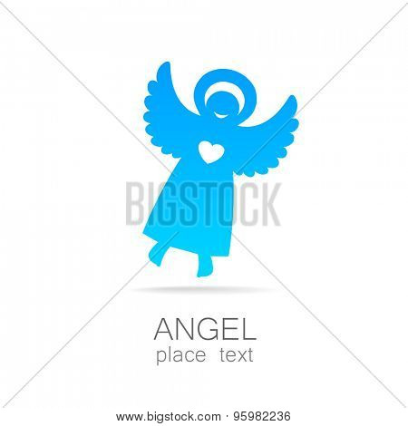 Angel - symbol of love, hope, care, Christmas. poster