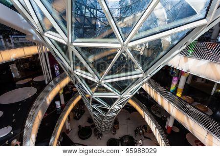 Shopping Mall Myzeil In Frankfurt, Germany