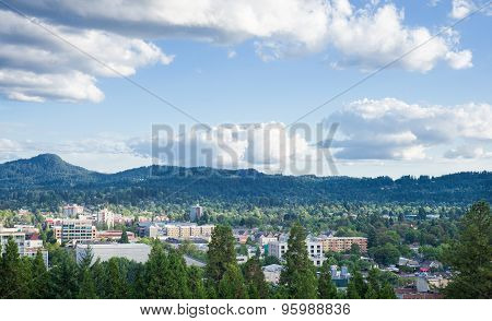 Eugene Summer Skyline