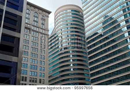 Skyscrapers And Landmark Building In Minneapolis