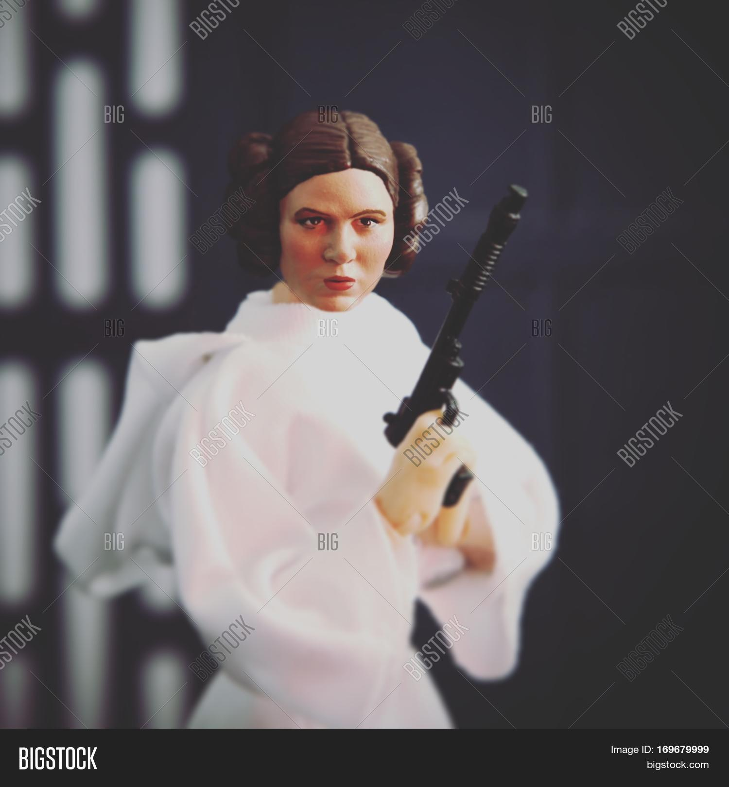 Carrie Fisher Princess Image Photo Free Trial Bigstock