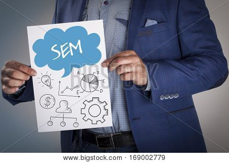 Technology, Internet, Business And Marketing. Business Analysis Concept.sem