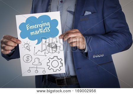 Technology, Internet, Business And Marketing. Business Analysis Concept.emerging Markets