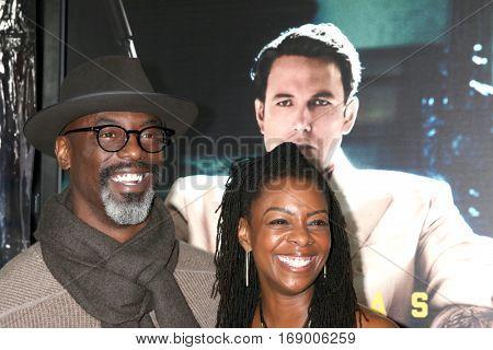 LOS ANGELES - JAN 9:  Isaiah Washington, guest at the