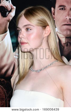 LOS ANGELES - JAN 9:  Elle Fanning at the