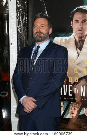 LOS ANGELES - JAN 9:  Ben Affleck at the