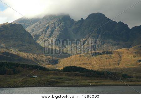 Bla Bheinn Mountain, Isle Of Skye, Scotland