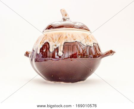 Old vintage Porcelain pepperbox, made in Soviet times.