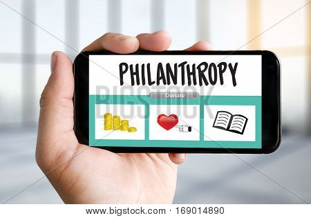 Hope Care Donate Altruism Philanthropy Charity Donations Help Support Giving Community