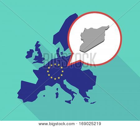 Map Of The Eu Map With  The Map Of Syria