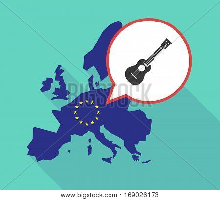 Map Of The Eu Map With  An Ukulele