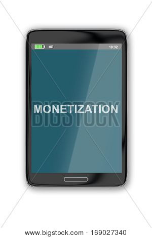 Monetization - Financial Concept