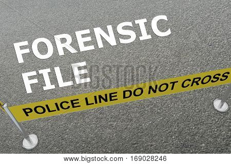 Forensic File Concept