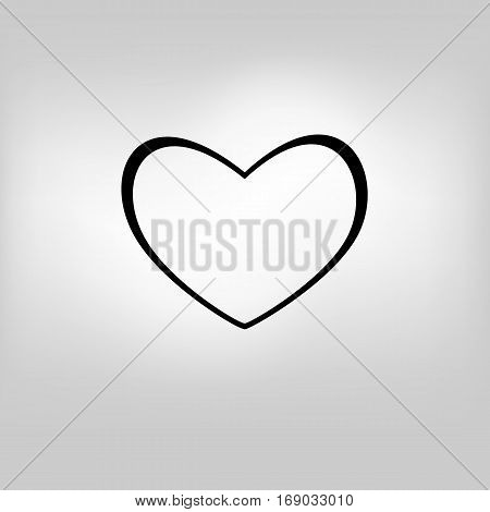 vector heart bakcground valentines day abstract illustration