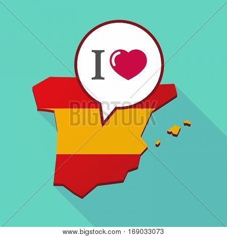 Map Of Spain With  An