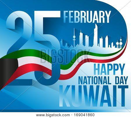 25 February - Happy National Day Kuwait