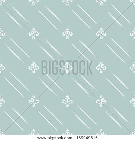 Seamless classic vector blue and white pattern. Traditional orient ornament. Classic vintage background