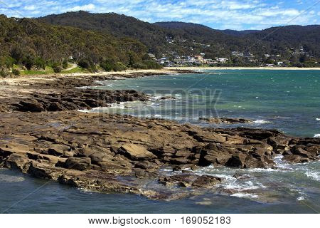 View of Lorne in Great ocean road in Victoria, Australia