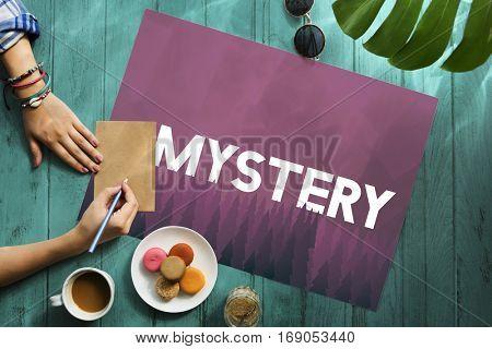 Curious Mystery Bizarre Strange