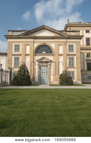 Monza (Brianza Lombardy Italy) - Royal Palace the exterior
