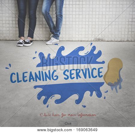 Cleaning Service Professional Cleaner Hygiene Housekeeper Concept