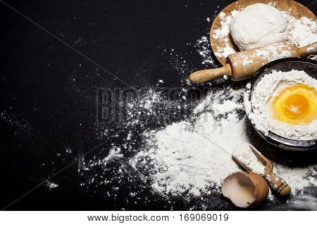 Ingredients And Utensils For The Preparation Of Bakery Products