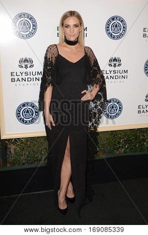LOS ANGELES - JAN 7:  Ashlee Simpson at the Art of Elysium 10th Annual Black Tie Heaven Gala at Red Studios on January 7, 2017 in Los Angeles, CA