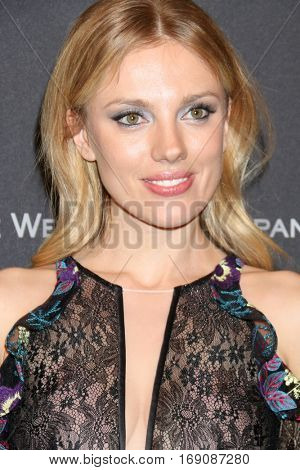 LOS ANGELES - JAN 8:  Bar Paly at the Weinstein And Netflix Golden Globes After Party at Beverly Hilton Hotel Adjacent on January 8, 2017 in Beverly Hills, CA