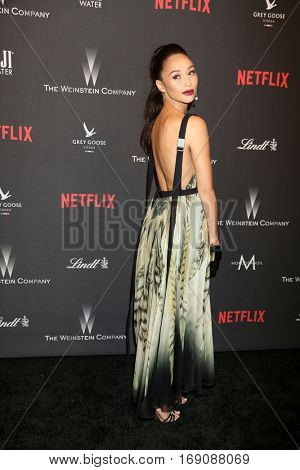 LOS ANGELES - JAN 8:  Cara Santana at the Weinstein And Netflix Golden Globes After Party at Beverly Hilton Hotel Adjacent on January 8, 2017 in Beverly Hills, CA
