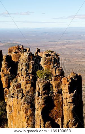 In South Africa Valley Of   Desolation